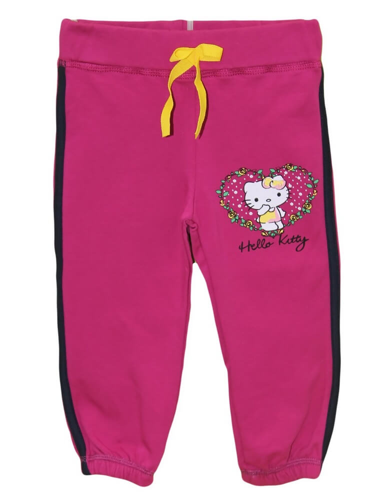 Брюки спорт д/д 86-104 Hello Kitty рез 4767
