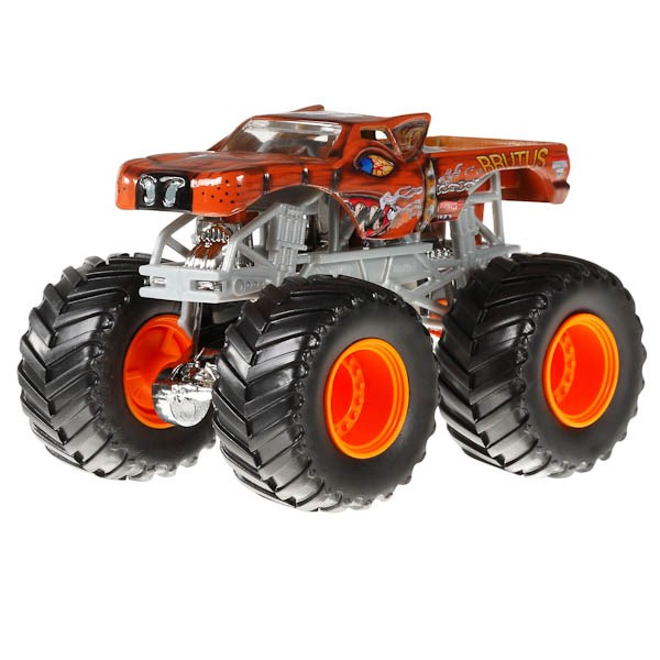 маттел. hot wheels® monster jamв машинки 1:64 в ассорт. в кор.12шт