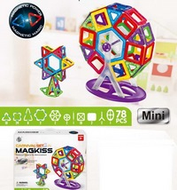 Магнитный 3D-конструктор Magkiss Mini (78 деталей)