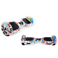 Гироборд hoverbot  a-3 light -white multicolor