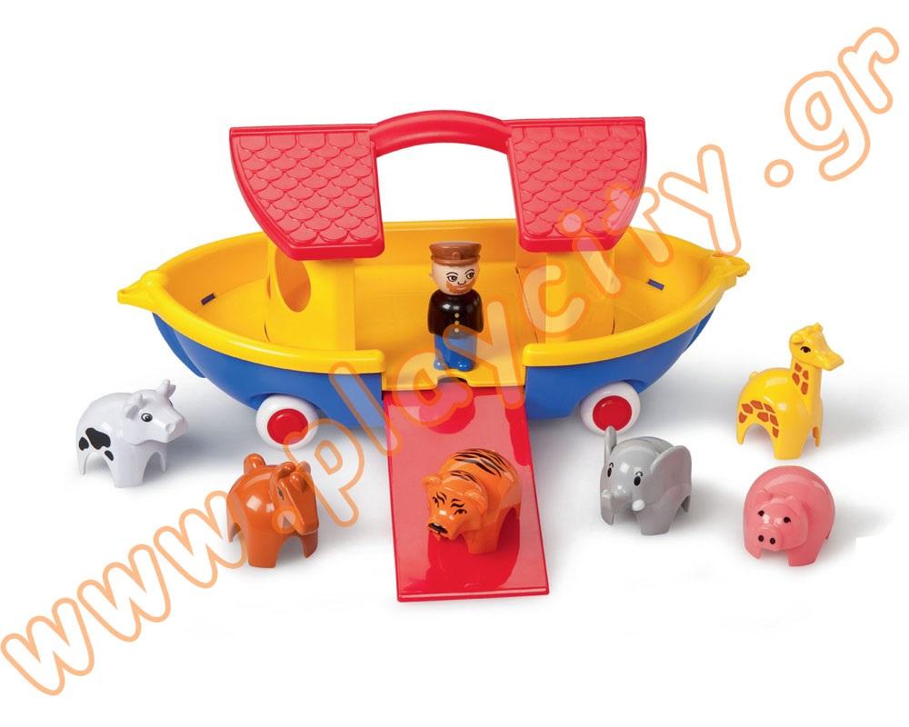 Лодка ноев ковчег (вкл.12 жив-х и 2 чел.)