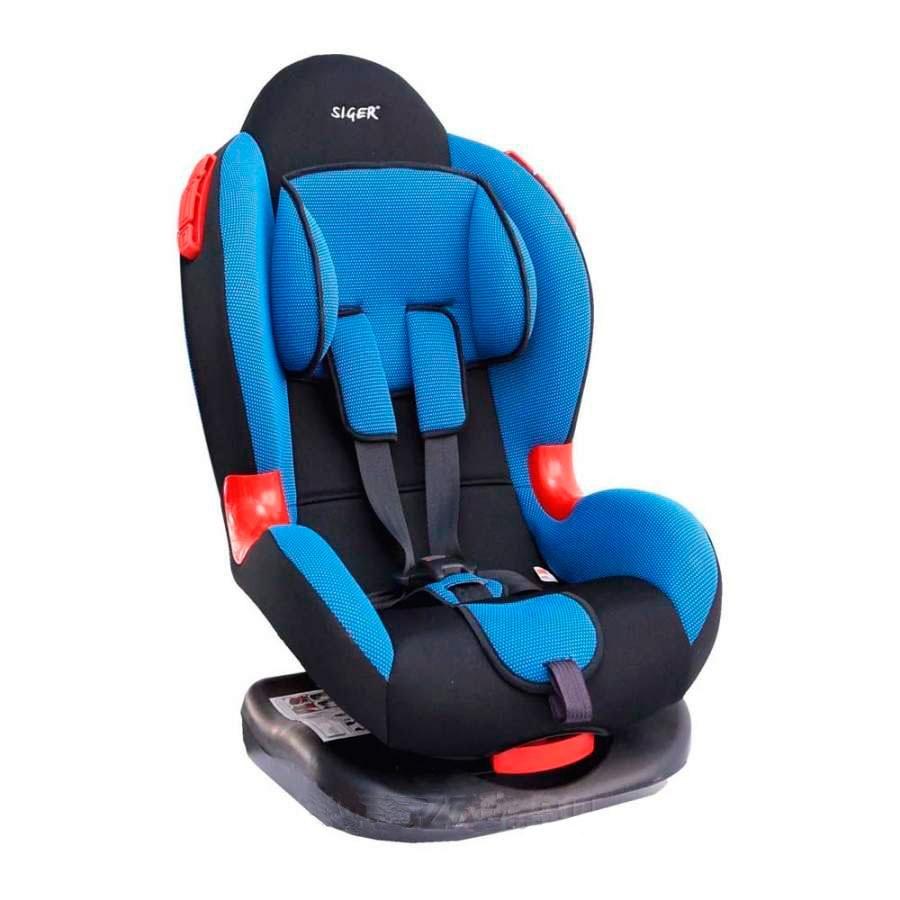 Детское автомобильное кресло КОКОН (синий)