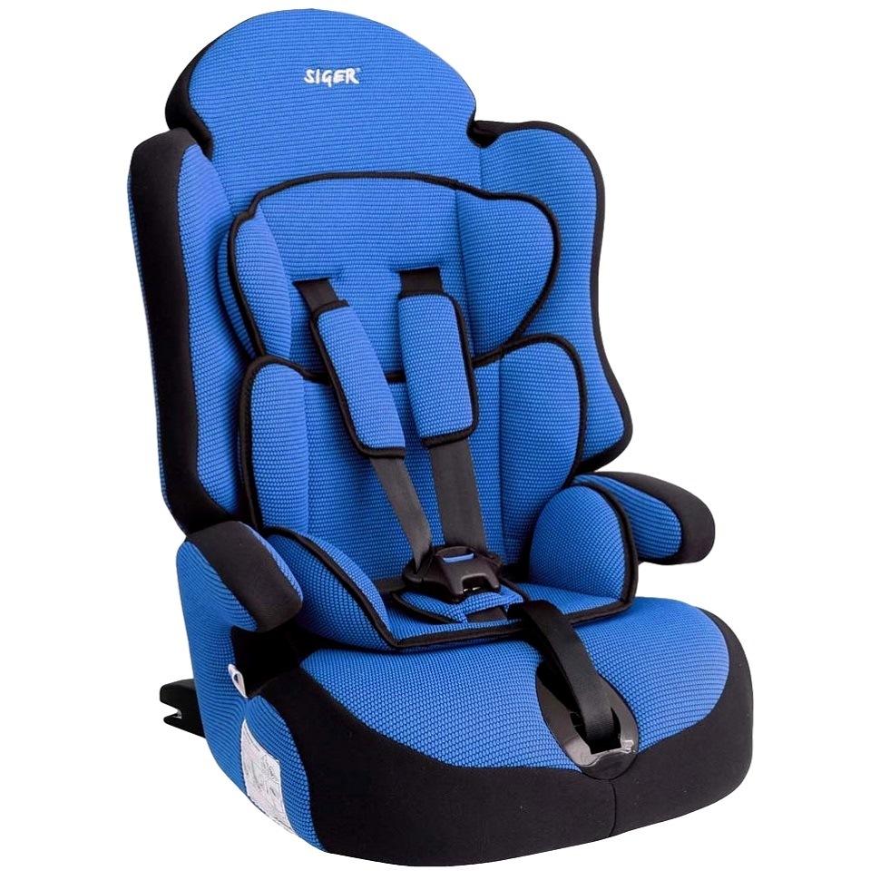 Детское автомобильное кресло прайм изофикс груп.1-2-3 (синий)