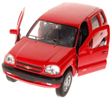 Игрушка модель машины 1:34-39 chevrolet niva42379