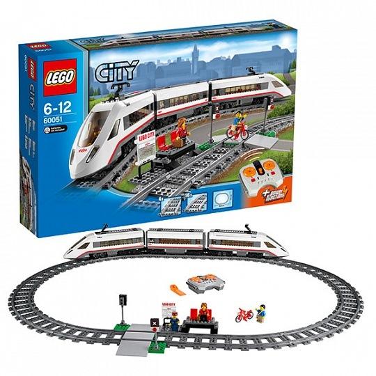 Игрушка город скоростной пассажирский поезд60051