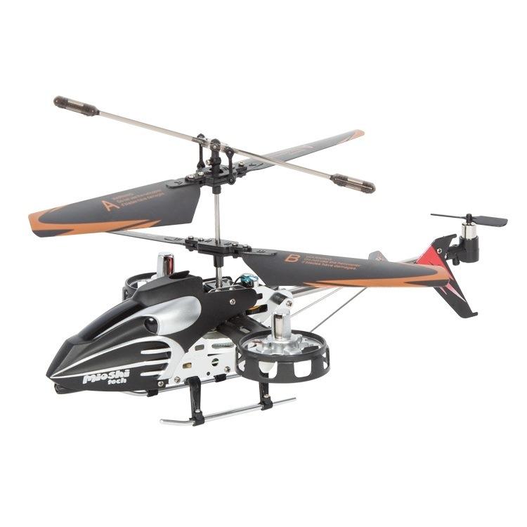 Mioshitech  вертолёт и/к  phantom2x (4 канала, гироскоп, 21 см, зап. детали)