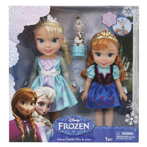 Игровой набор  2 куклы и  олаф холодное сердце  принцессы дисней310170