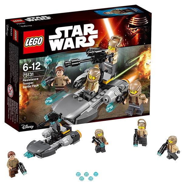 Игрушка звездные войны боевой набор сопротивления™75131