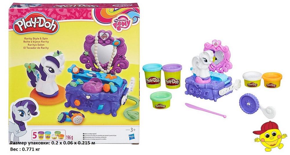 Игровой набор play-doh  туалетный столик раритиb3400