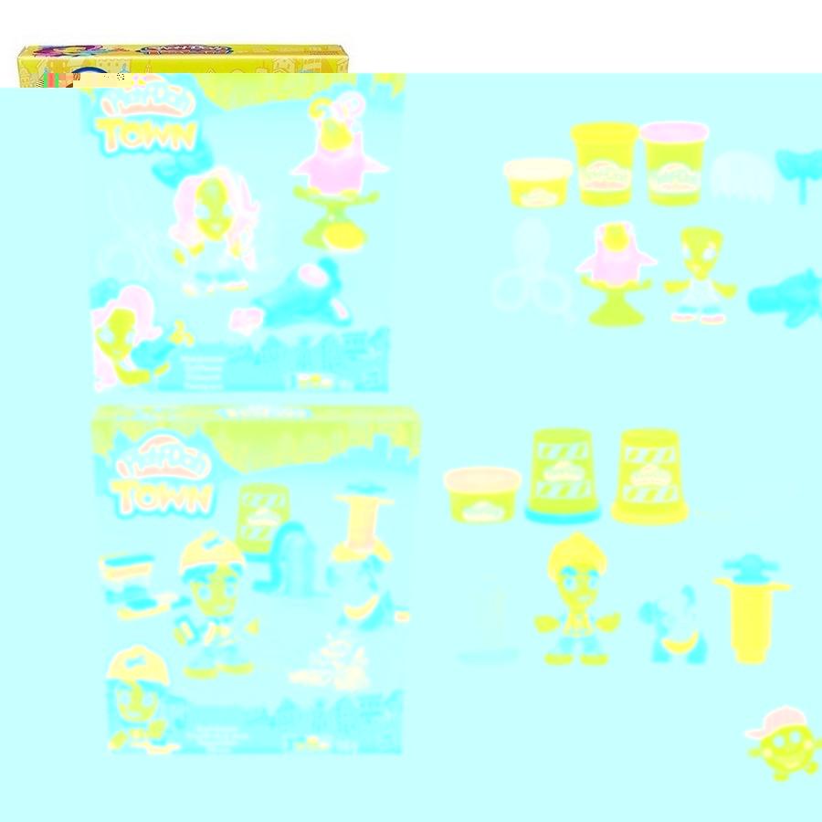 Play-doh город игровой набор житель и питомец, в ассорт.b3411