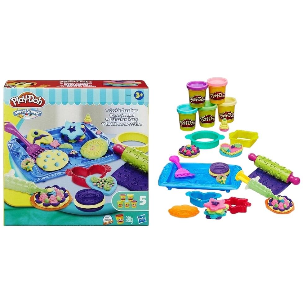 Play-doh игровой набор магазинчик печеньяb0307