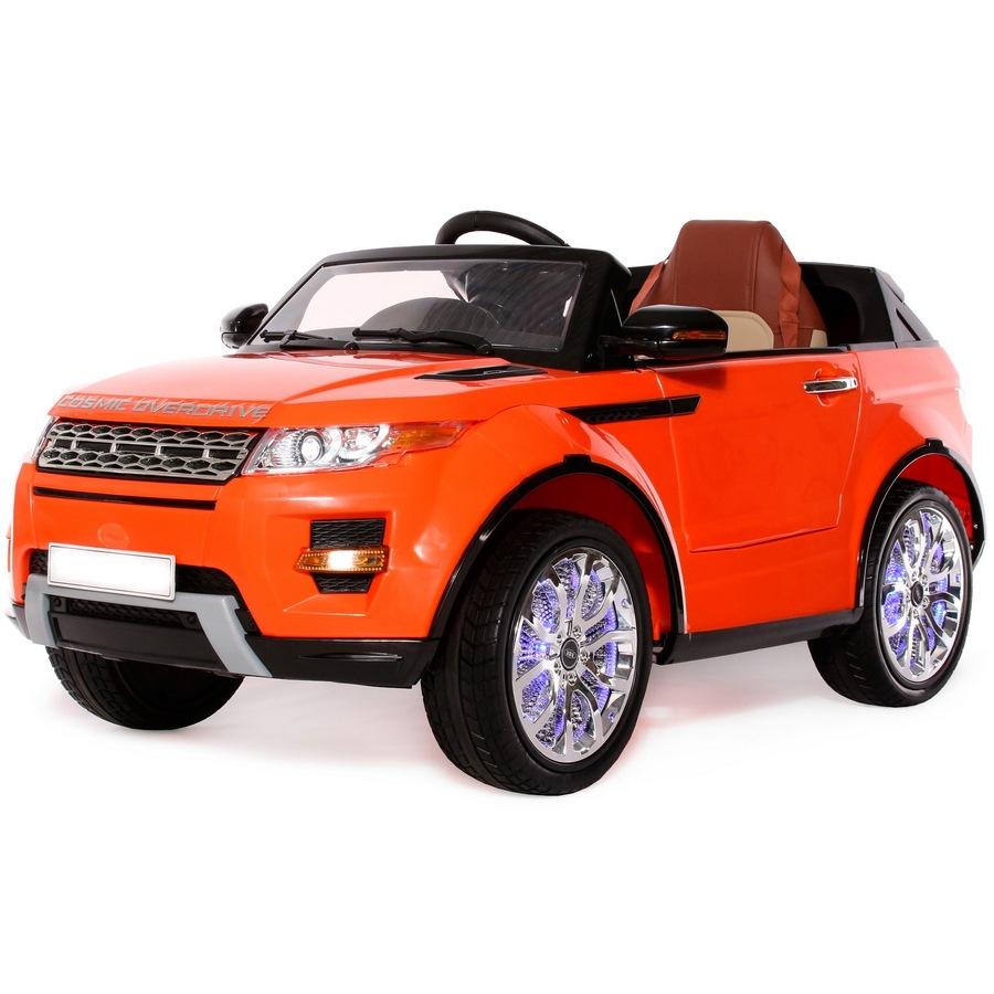 Электромобиль Range Rover А111АА VIP (1-8 лет) оранжевый