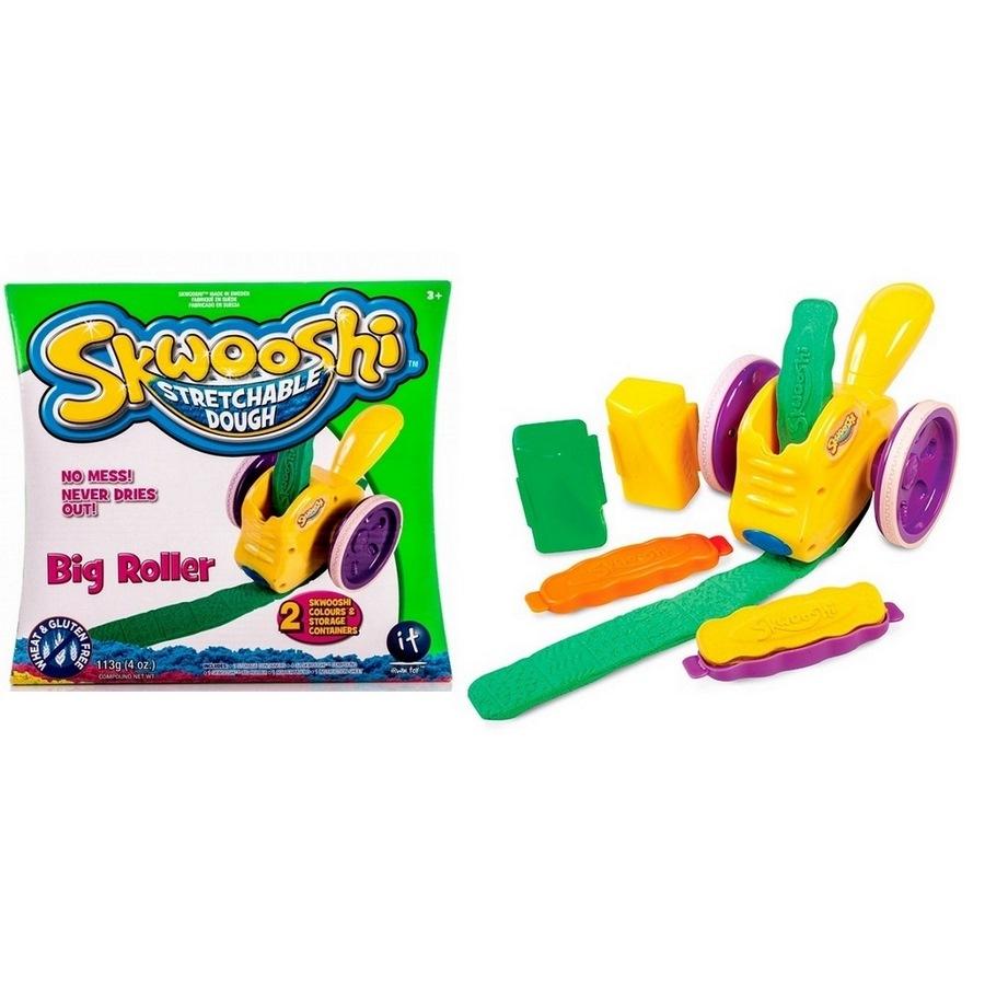 Набор для творчества skwooshi  большой роллер - масса для лепки и аксессуары