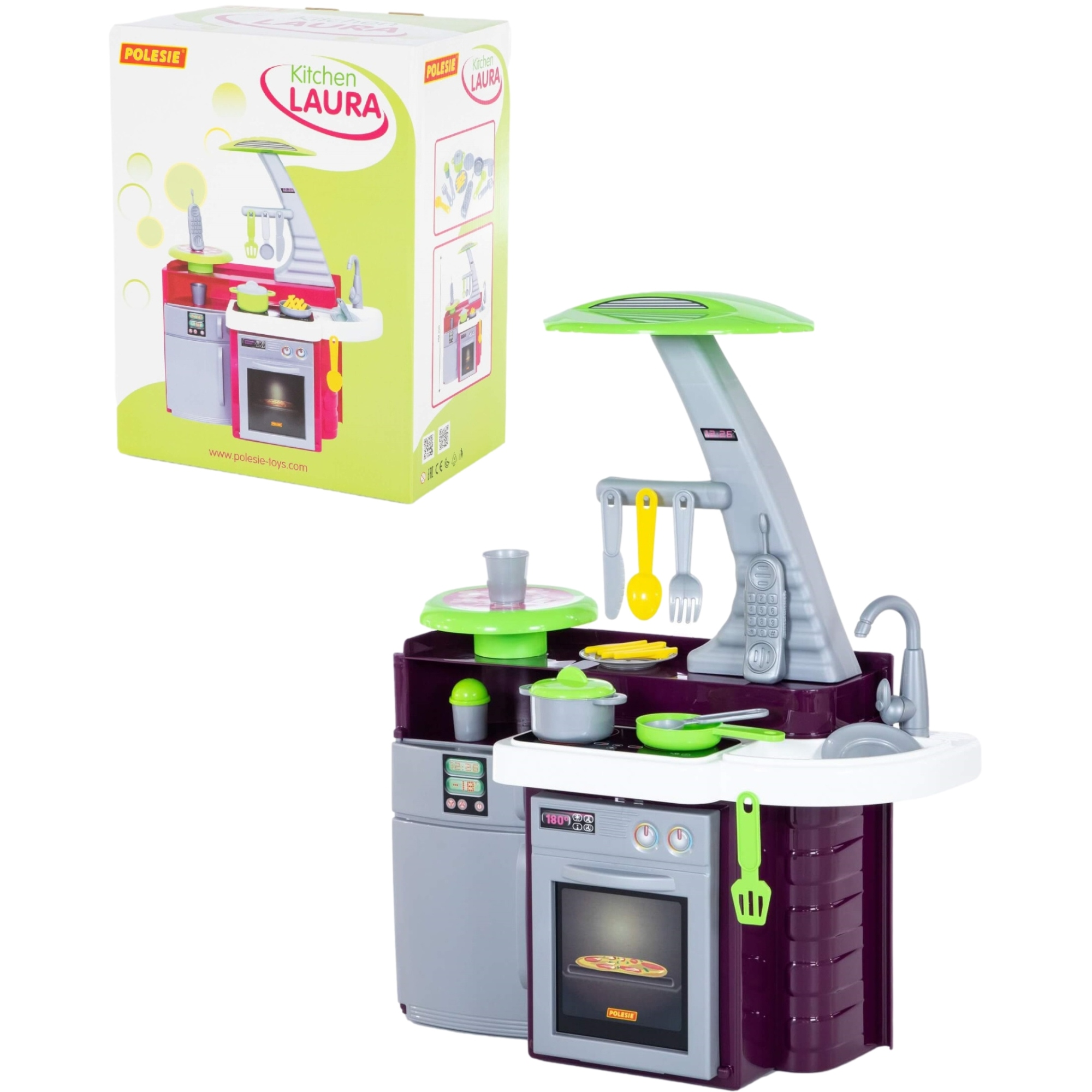Игровой набор Полесье Кухня Laura (в коробке, 61*34*75 см)