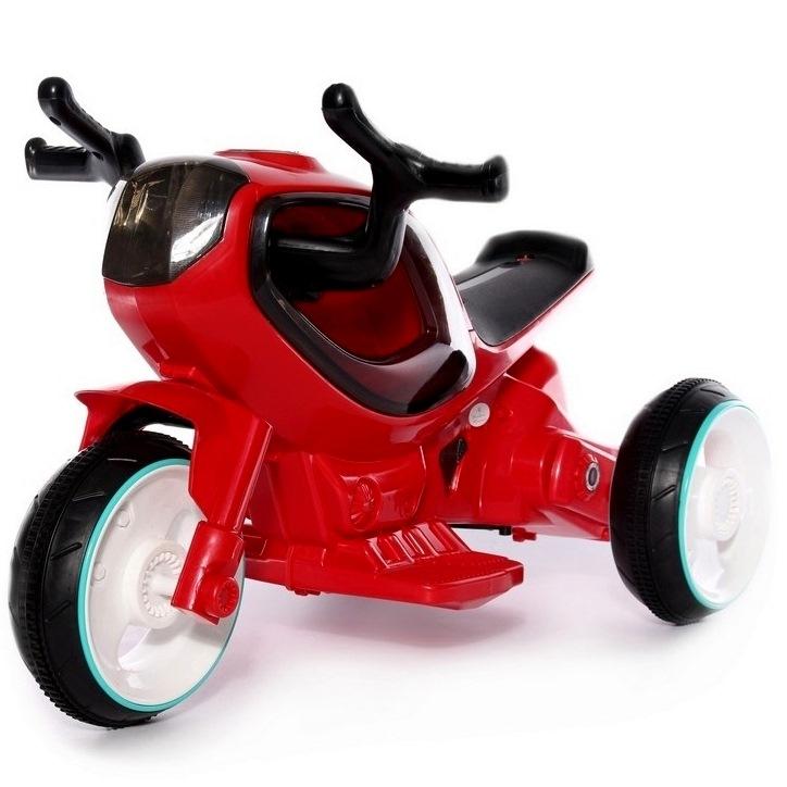 Электромотоцикл HC-1388 от 2 лет (свет, звук, красный)