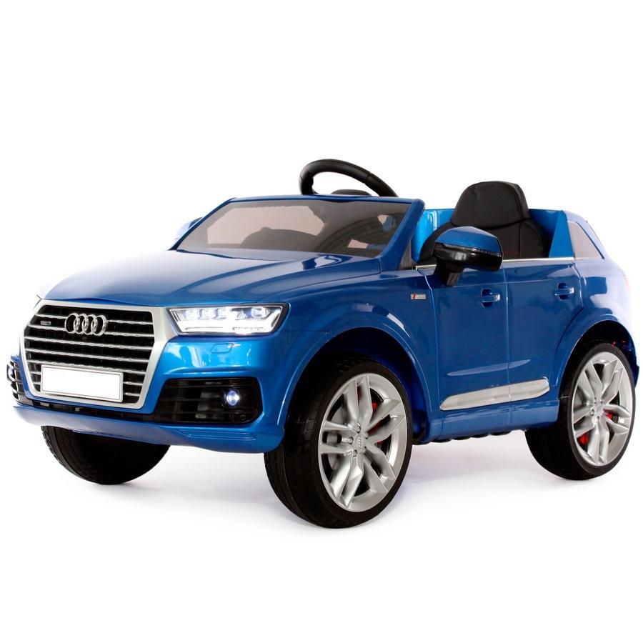 Электромобиль Audi Q7 Quattro (1-8 лет) синий глянец