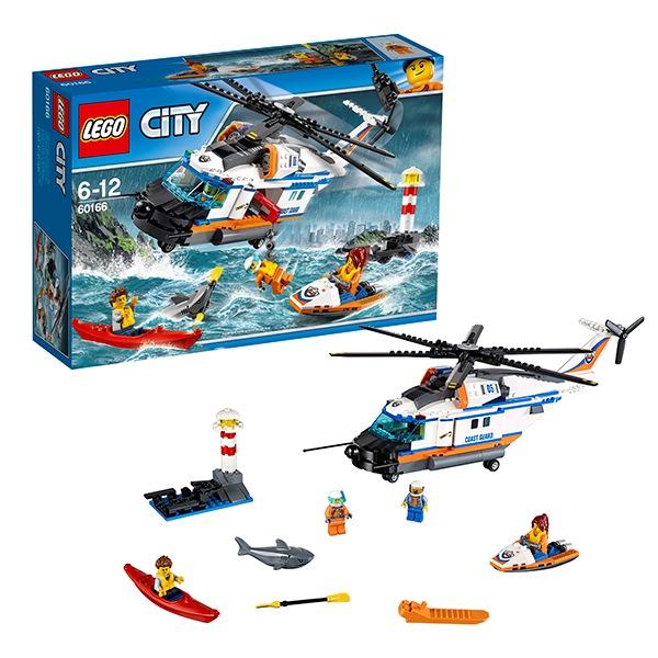 Игрушка город сверхмощный спасательный вертолёт60166
