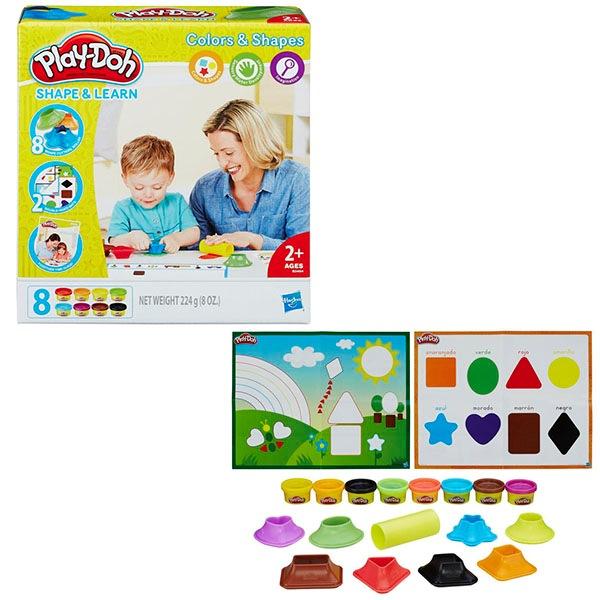 Игровой набор hasbro play doh плэй-до игровой набор цвета и формыb3404