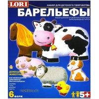 """""""Домашние животные"""" набор для отливки барельефов (023449)"""