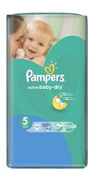 Pampers подгузники active baby junior (11-18 кг) стандартная упаковка 16 (103510)