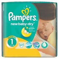 Pampers подгузники new baby newborn стандартная упаковка 27 (107596)