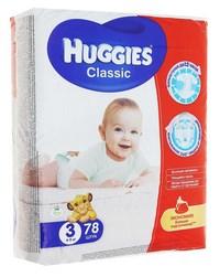 Хаггис classik 3s/m миди 4-9кг №78 9401034 (120774)