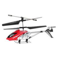 """Вертолет mioshi tech  """"ir -107,  красный"""" (и/к , 3,5 канала, гироскоп, длина 22 см, usb) (134370)"""
