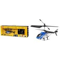 """Вертолет mioshi tech  """"ir-107,  синий""""  (и/к, 3,5 канала, гироскоп, длина 22 см, usb) (134371)"""