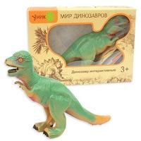 Динозавр (пахицефалозавр) на батарейках, в кор.16 шт., животные и динозавры (электр., р/у) (150145)