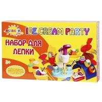 """Набор для лепки altacto clay """"волшебство кулинарии - вечеринка с мороженым"""" (6 цветов по 85 гр.) (156680)"""