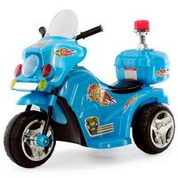 Электромотоцикл RiverToys 998 от 3 лет (свет, звук, синий) (204577)