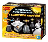 """Наборы для экспериментов, """"интересные эксперименты с солнечной энергией"""" (210862)"""