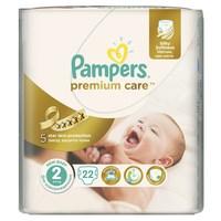 Pampers подгузники premium care mini (3-6 кг) 22 (213250)