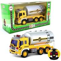 Машина р/у грузовик-автоцистерна, свет, 26*10*14,5см, машины и мотоциклы (214468)