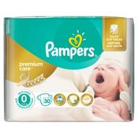 Pampers подгузники premium care newborn (до 2,5 кг) средняя упаковка 30 (217862)