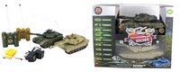 Танковый бой р/у 1:28т-90 (россия) -  abrams m1a2 (сша) (218498)