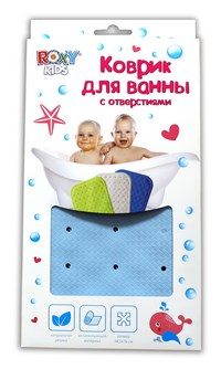 Roxy-kids антискользящий резиновый коврик для ванны  (222237)