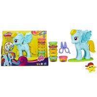 """Play-doh игровой набор """"стильный салон рэйнбоу дэш""""b0011 (225144)"""
