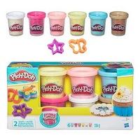 Игровой набор play-doh набор из 6 баночек с конфеттиb3423 (237044)