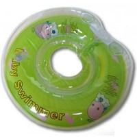 Baby swimmer круг для купания ( 6-36кг) салатовый полуцвет  (245851)