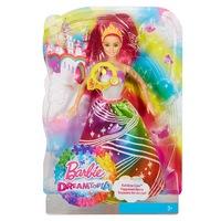 """маттел"". barbie® радужная принцесса с волшебными волосами на карт. в кор.4шт (247004)"