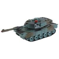"""Танк р/у mioshi army """"танковый бой: леопард"""" (22 см,и/к лучи,1:32,повор. башни,эффекты,свет/звук,аккум.,40.68мгц,зел.-кор.)  (247057)"""