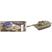 """Танк р/у mioshi army """"танковый бой: м1а2"""" (22 см,и/к лучи,1:32,повор. башни,эффекты,свет/звук,аккум.,40.68мгц,хаки)  (247059)"""