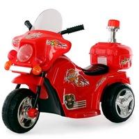 Электромотоцикл RiverToys 998 от 3 лет (свет, звук, красный) (247728)