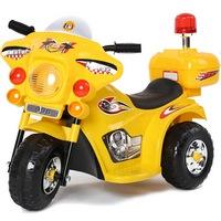 Электромотоцикл RiverToys 998 от 3 лет (свет, звук, желтый) (247729)