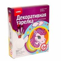 "Декоративная тарелка ""добрая лошадка"", арт. т-011 (248388)"
