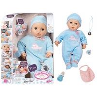 Игрушка baby annabell кукла-мальчик многофункциональная, 46 см, кор.794-654 (249229)