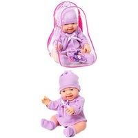 Кукла-пупс, леночка,38см, в рюкз., куклы мягконаб., пвх, винил. (252443)