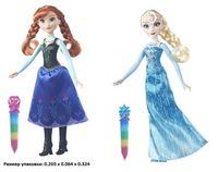 Игрушка hasbro disney princess модная кукла холодное сердце  с сияющим нарядом в ассорт.b6162 (252782)