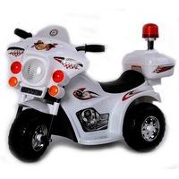 Электромотоцикл RiverToys 998 от 3 лет (свет, звук, белый) (253714)